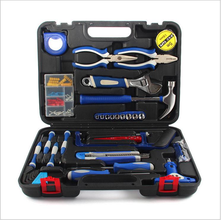 家用组合工具套装 多功能组合套组合工具箱套装五金手动 工具组套