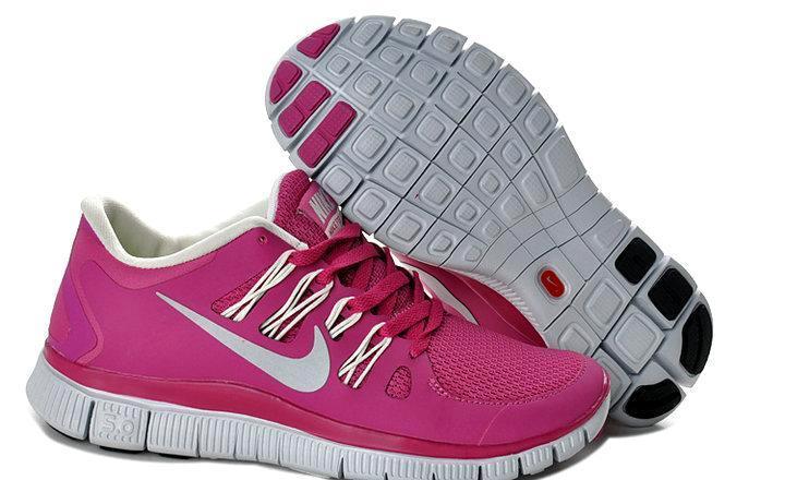 批发耐克运动鞋NIKE Free Run赤足5.0透气网面女软跑鞋 休闲鞋