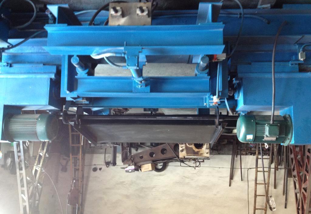 施工升降机标准节主弦管自动加工机床