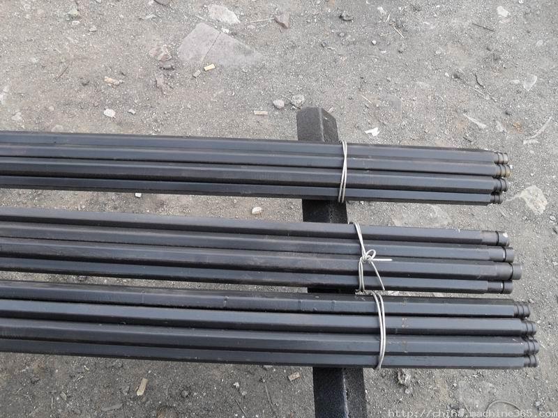 河南矿山配件莲池钎具厂厂家批发B19钻杆,价格最低质量保证