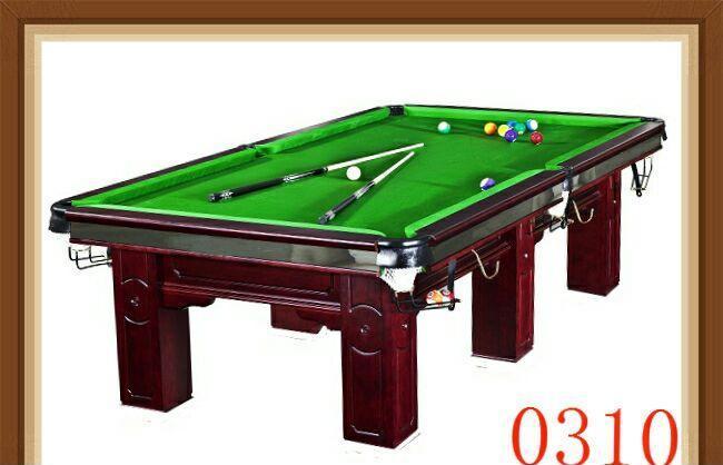 美式标准比赛桌球台图片