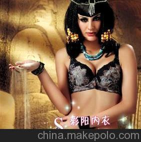 限量版法国名牌芘茜妮2011爆款8905#时尚豹纹印花带插片文胸