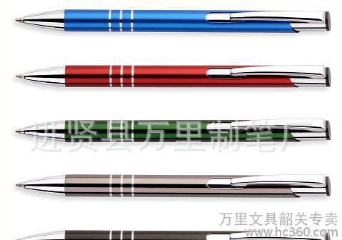 中国最大的金属笔工厂江西笔都文港万里金属笔圆珠笔礼品笔工厂4
