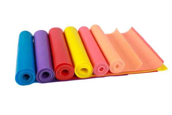 TPE瑜伽健身带颜色定制