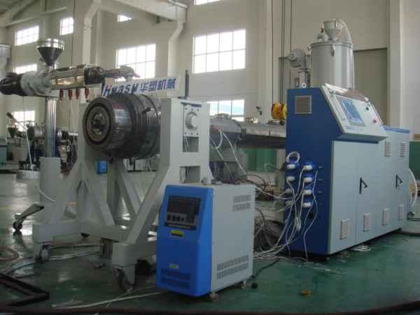 PE燃气管生产线
