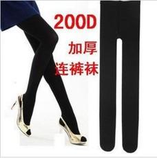 厂家直销200D天鹅绒高弹力显瘦连裤丝袜 不起球连裤袜 不透肉裤袜
