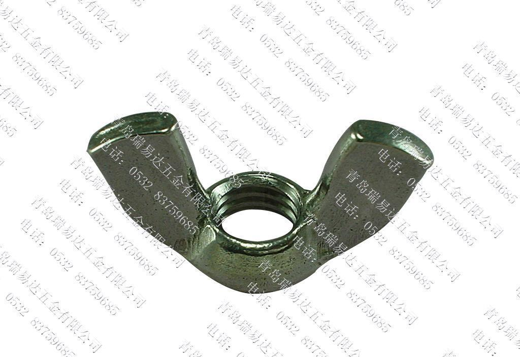 供应优质SS316不锈钢 GB62蝶形螺帽M8 A4-50