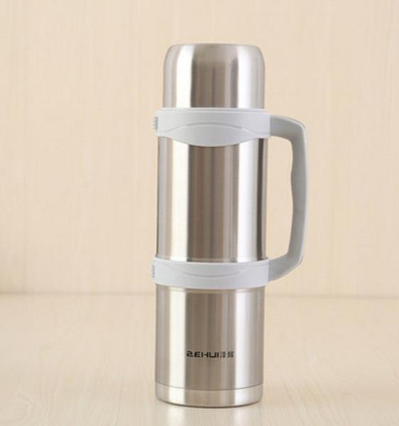 2升超大号车载保温壶不锈钢真空保温杯旅行水壶热水瓶