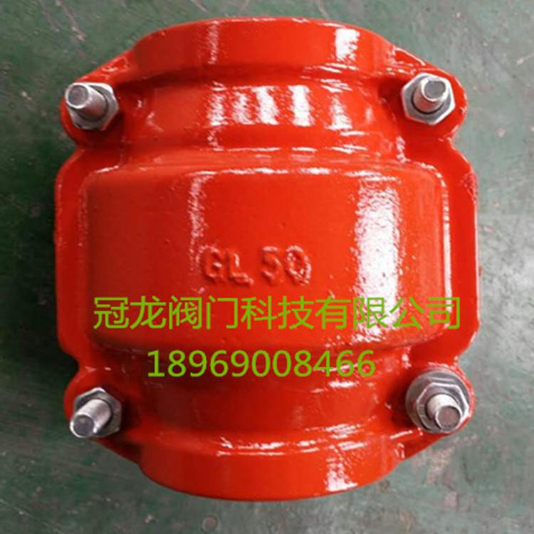 厂家热销冠龙阀门SKX-10型承插口堵漏器哈夫节PE管专用