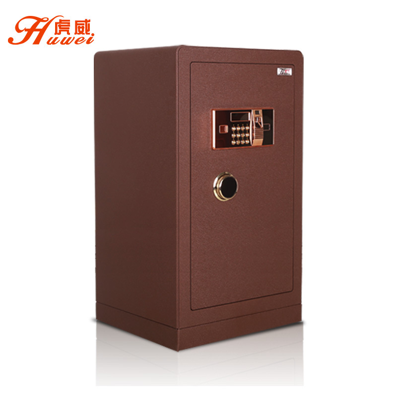 虎威全钢保险柜家用3C认证60cm办公保管箱电子指纹防盗保险箱床头