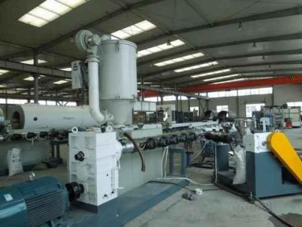 PPR冷热水管生产线设备