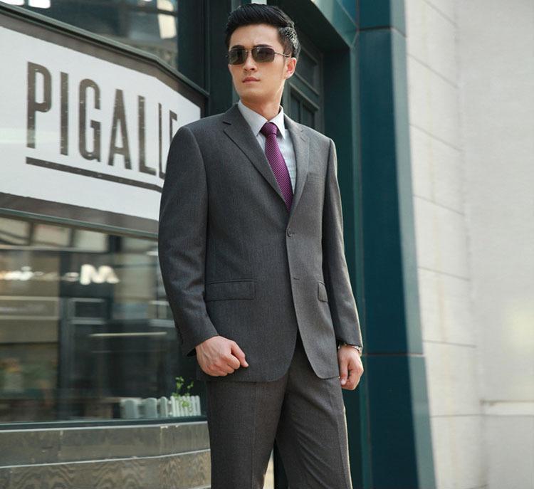 厂家直销法国皮尔卡丹 2013新款商务休闲男士品牌西服套装