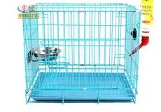 喷塑宠物笼折叠笼子狗笼猫兔子笼泰迪贵宾雪纳瑞笼运输笼