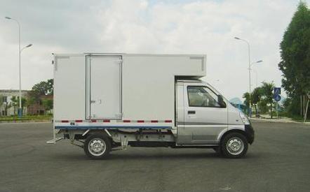 五菱小型四轮厢式货车价格图片