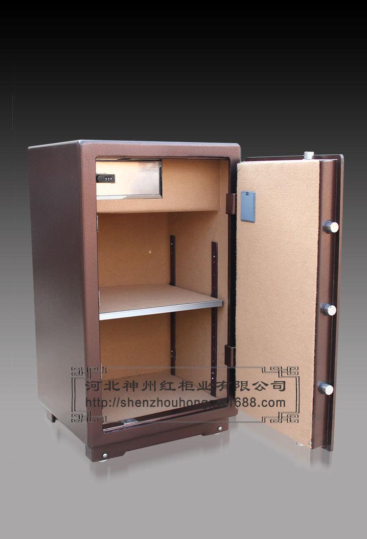 虎牌保险柜3c认证办公保险箱家用床头柜大型全钢保险柜90cm