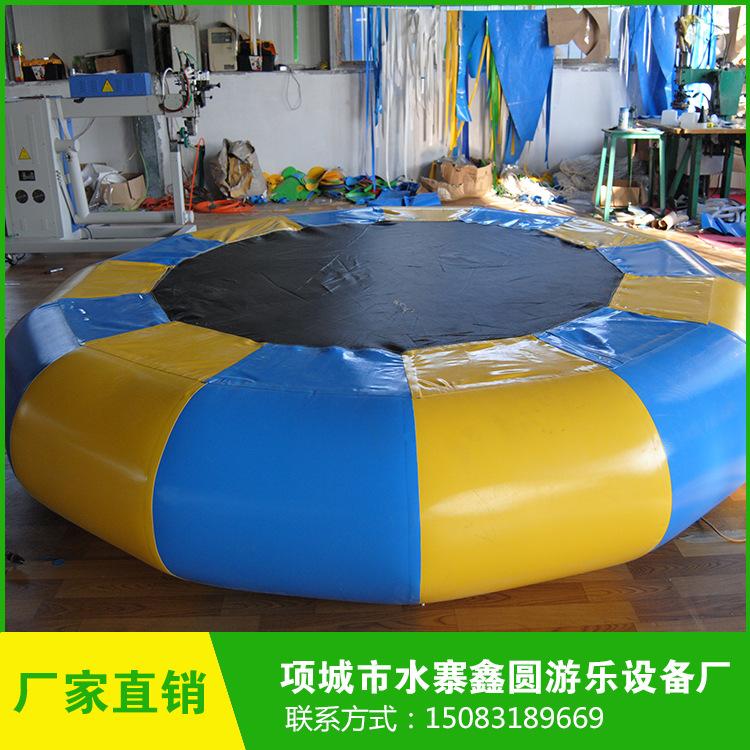 厂家直销 户外四人充气蹦极 大人充气蹦床 儿童充气跳跳床