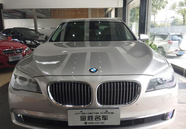 金胜名车 进口宝马 730Li 豪华版 首付14.5万