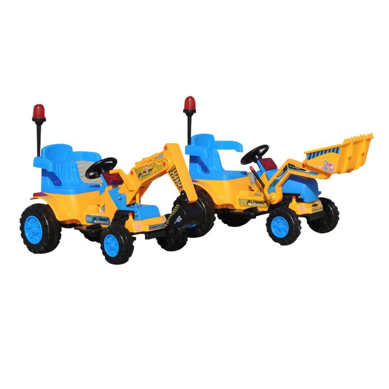 厂家直销 电动挖机玩具 电动玩具挖掘机 儿童玩具批发0