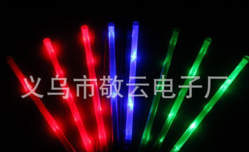 电子彩虹棒 演唱会闪光大棒 电子大棒 银光棒 闪光棒 发光棒批图片