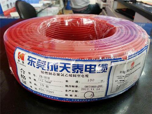 超值的成天泰电缆晟业电缆供应|江门电缆线价格