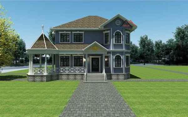 美式轻钢别墅