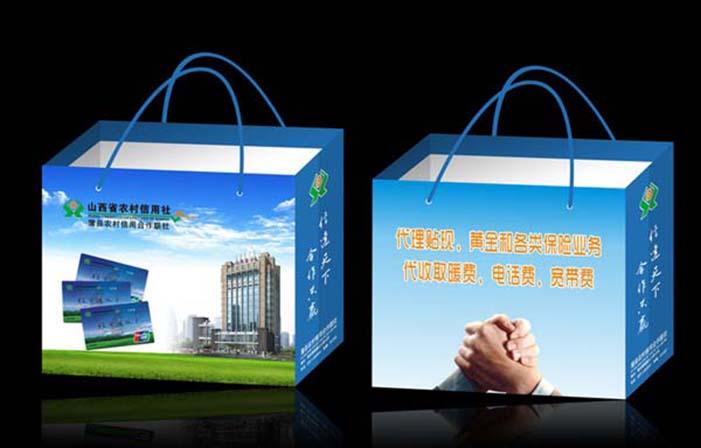 太原便宜的印刷厂 太原地区实惠的手提纸袋