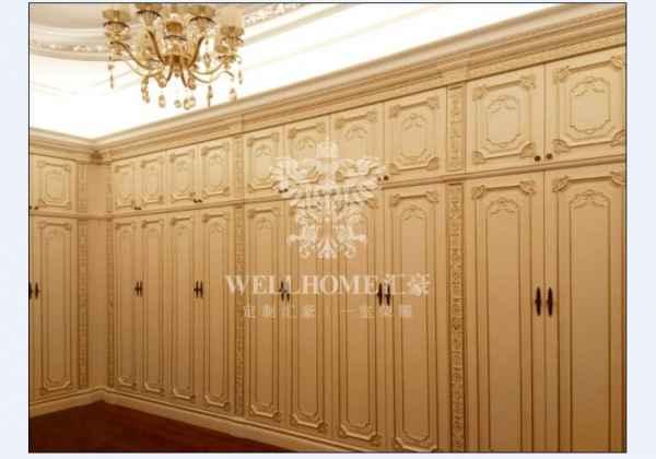 高端原木衣柜