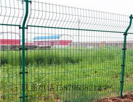 防盗围栏网价格 南昌景区隔离网 青云谱区小区围墙栏杆 双边丝防护网
