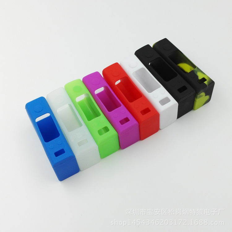 批发电子烟盒子EVIC VTC MINI硅胶套电子烟配件保护套Evic mini