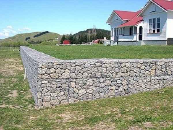 景观墙石笼网