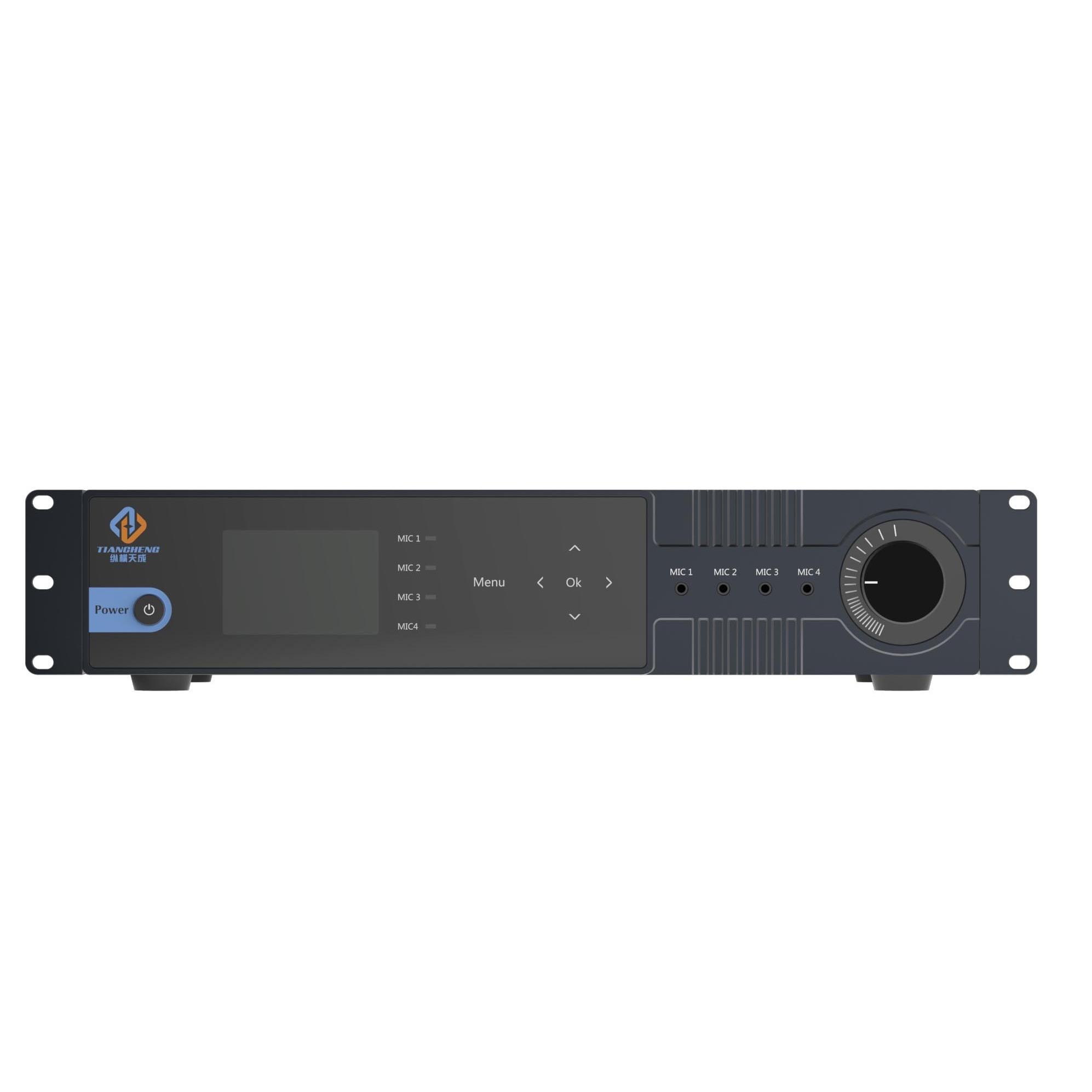 多功能音频分配器全触摸接口ZH-AD0424KTW