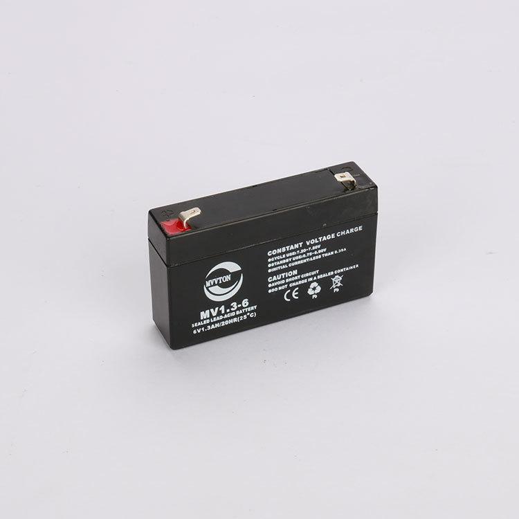 6V1.3AH电子秤蓄电池 免维护蓄电池6V1.3AH铅酸蓄电池厂家