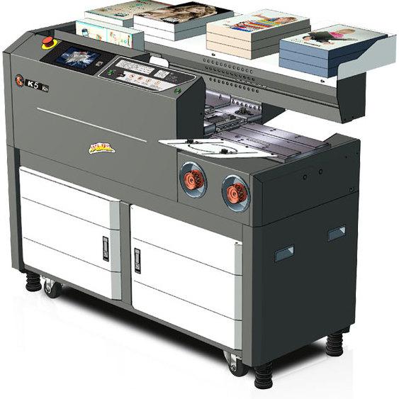 杭州胶装机生产厂家   彩霸K5无线胶装机    批发供应胶装机