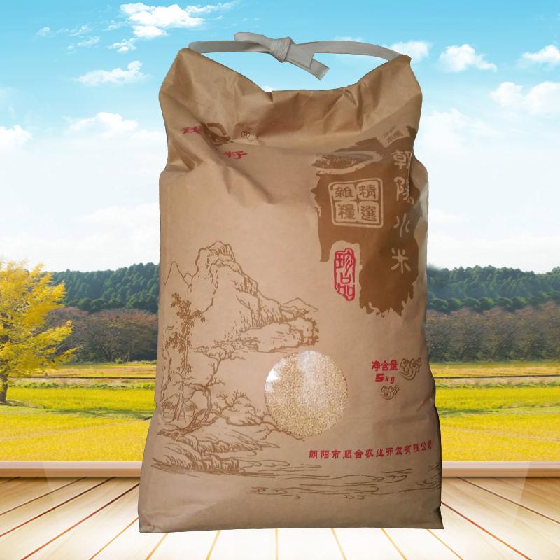 顺合 钱袋籽系列小米 5kg袋装珍品小米