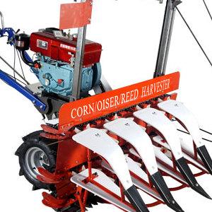 厂家直销小型手扶玉米芦苇收割机玉米割晒机