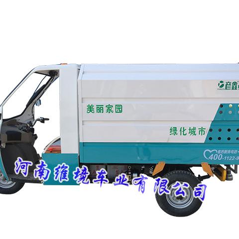 维境车业高压喷雾抑尘车采用两种动力配置