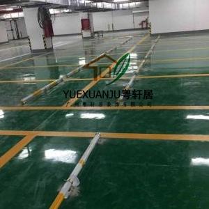 广州粤轩居承接操场 车库 停车场 厂房 办公室 公园的地坪施工服务