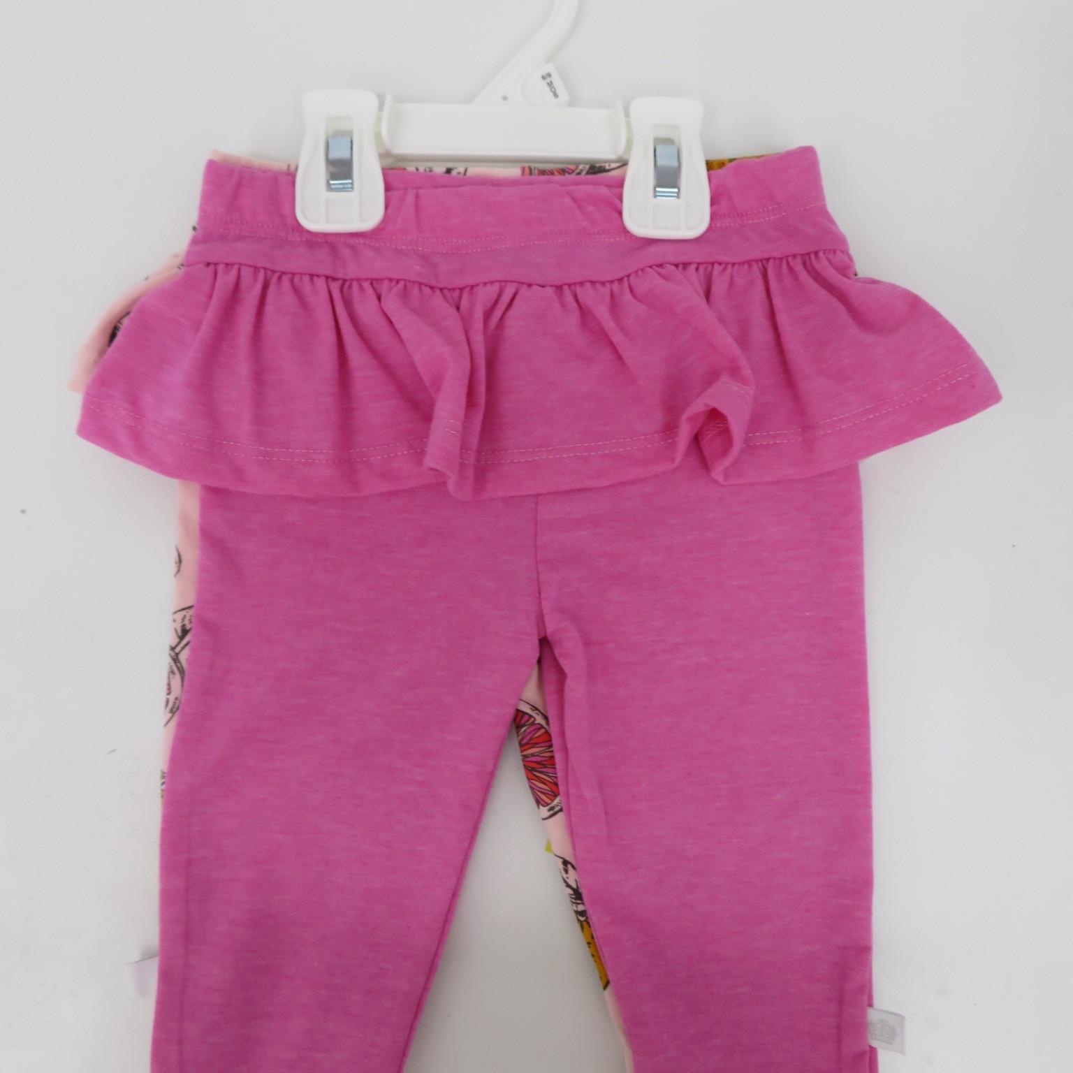 外贸原单宝宝秋冬长裤婴儿印花纯色2件装长裤