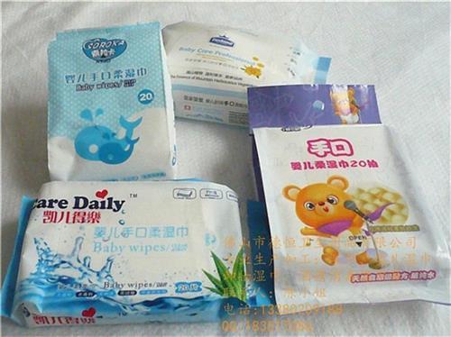 嬰兒濕紙巾,佛山德恒衛生用品(圖),進口嬰兒濕紙巾帶蓋