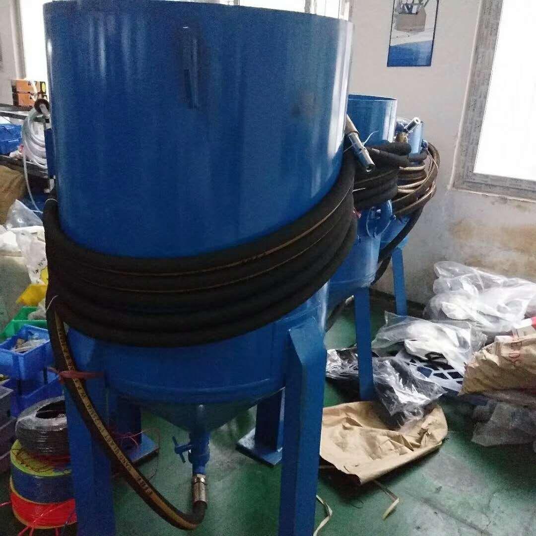 钢筋加仑除锈喷砂机 移动喷砂机 喷砂机设备
