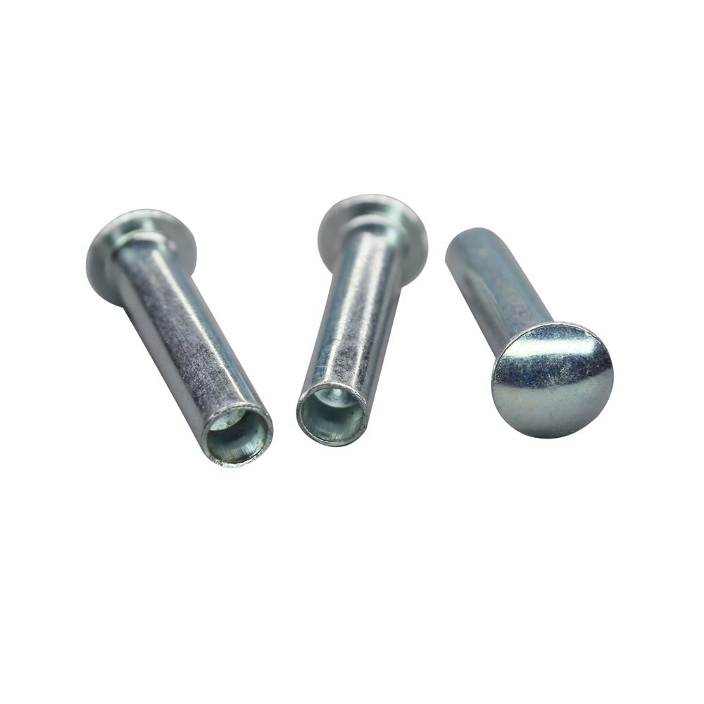 宝路特五金厂家直销现货供应铁铆钉 铁半空心铆钉 铁空心铆钉 铁实心铆钉