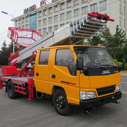 新梦想-新选择-威海高丽亚28米搬运云梯车-国五排放-免购置税
