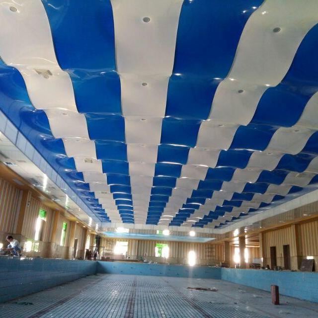 廊坊游泳池吊顶 游泳馆钢构防腐吊顶 游泳馆吊顶设计案例