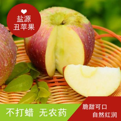盐源糖心丑苹果中果(7.0-7.5)(5斤包邮)