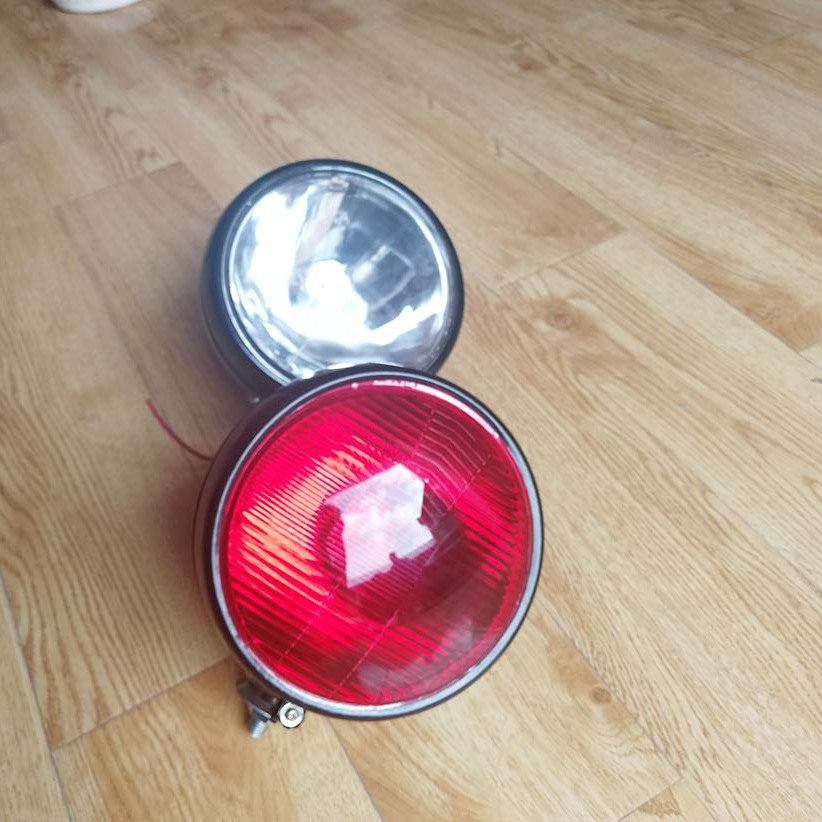 工作灯178-2白光  178-2红光  轨道车车灯
