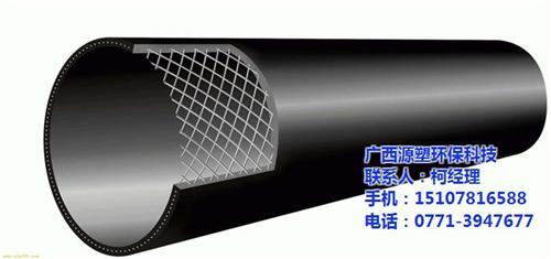 钢丝网骨架塑料复合管法兰,南宁钢丝网骨架塑料复合管,源塑