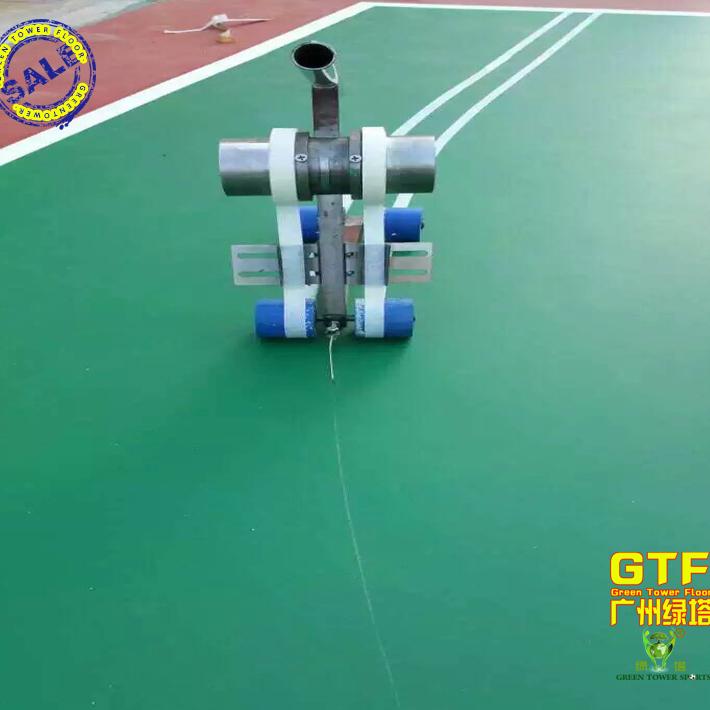 篮球场专用贴带机运动场地划线机