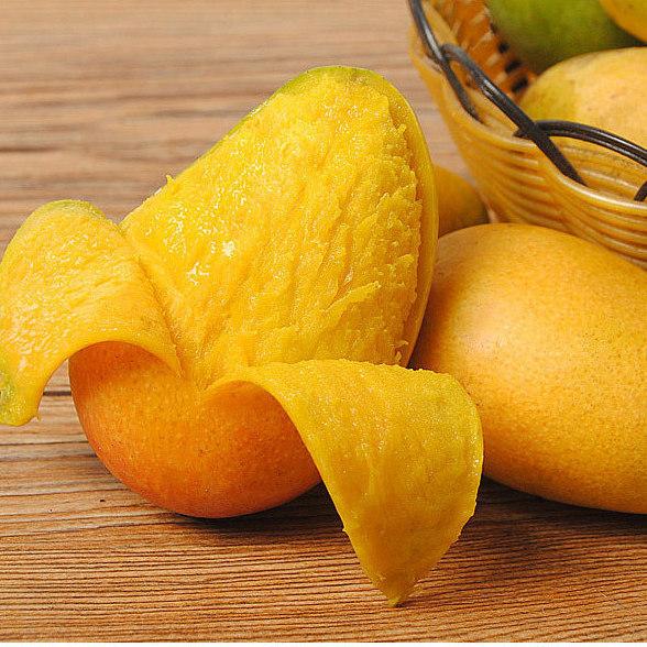 廣西小臺農芒果5斤裝 整箱批fa 新鮮現摘 水果 那坡特產