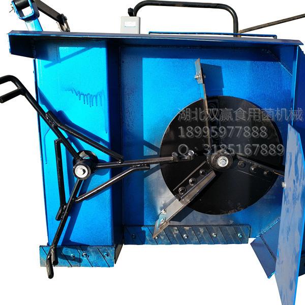 食用菌自走式电动拌料机自走式电动搅拌机菌料翻堆机