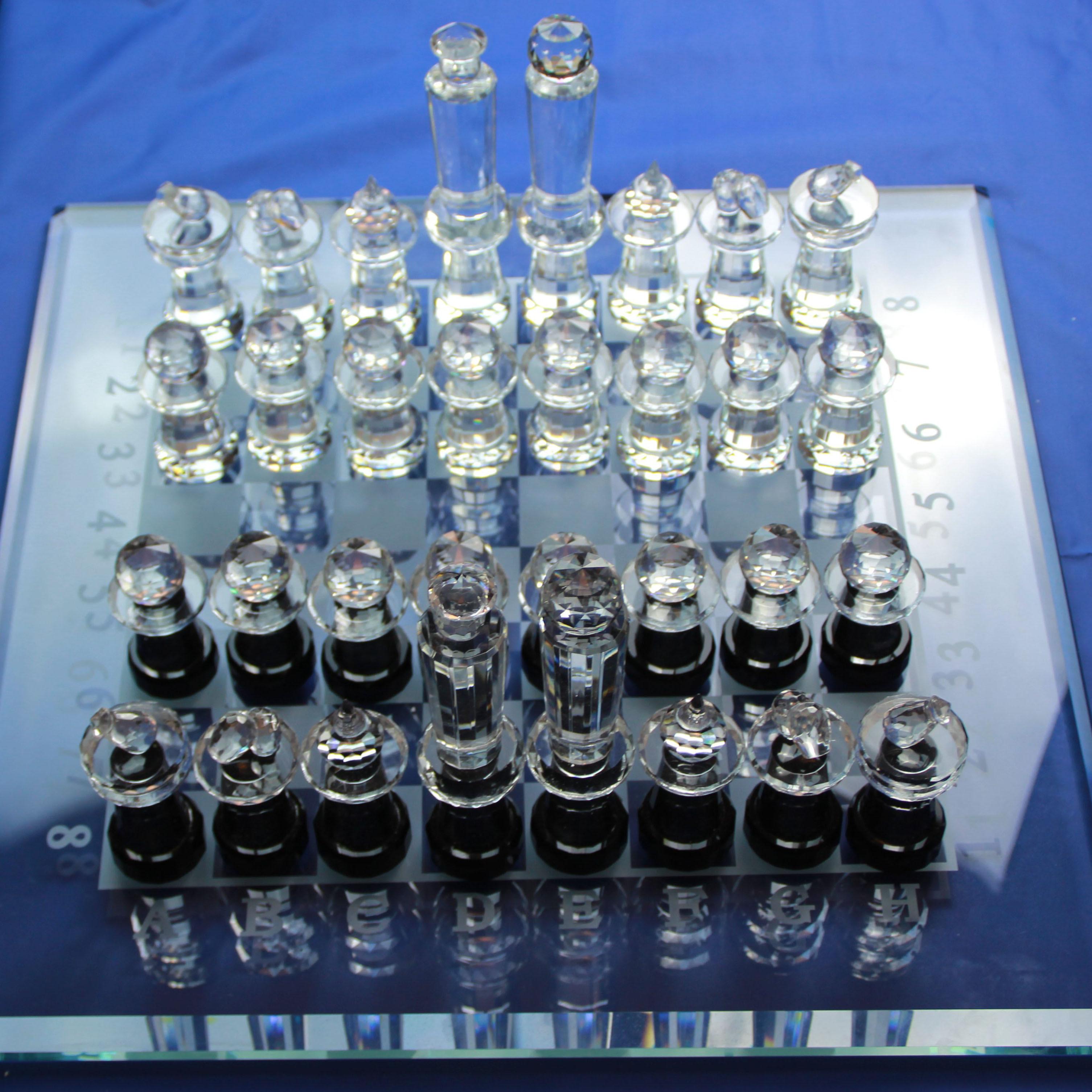 浦江水晶 浦江国际象棋 水晶订制供应 厂家直销 家居摆件游戏娱乐用品